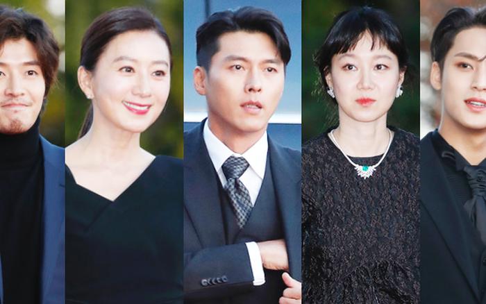 Quân đoàn sao đổ bộ thảm đỏ khủng: Hyun Bin ngời ngời sau tin kết hôn, Junsu - SEVENTEEN