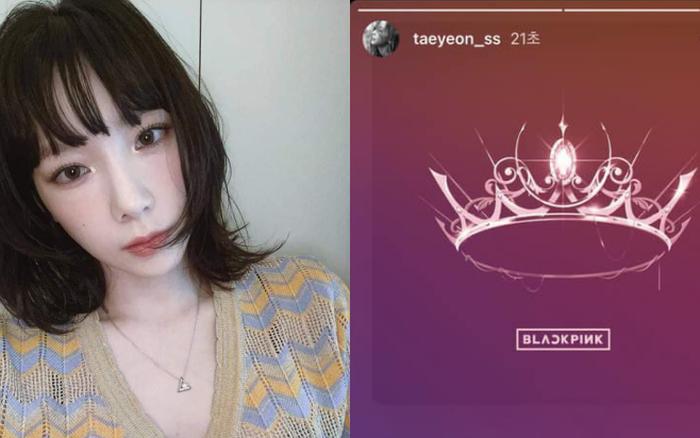 """Taeyeon bất ngờ chia sẻ đang nghe nhạc của BLACKPINK, Knet soi ra hình như chơi thân """"ngầm"""" với nhau hay gì?"""