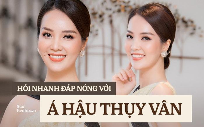 Phỏng vấn nóng Thuỵ Vân trước Bán kết HHVN: Hé lộ lý do 10 năm giữ kín diện mạo ông xã, khẳng định