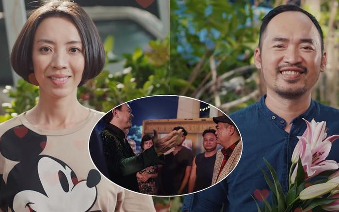 Thu Trang suýt bùng show từ thiện ở tập cuối Chuyện Xóm Tui, may quá cái kết