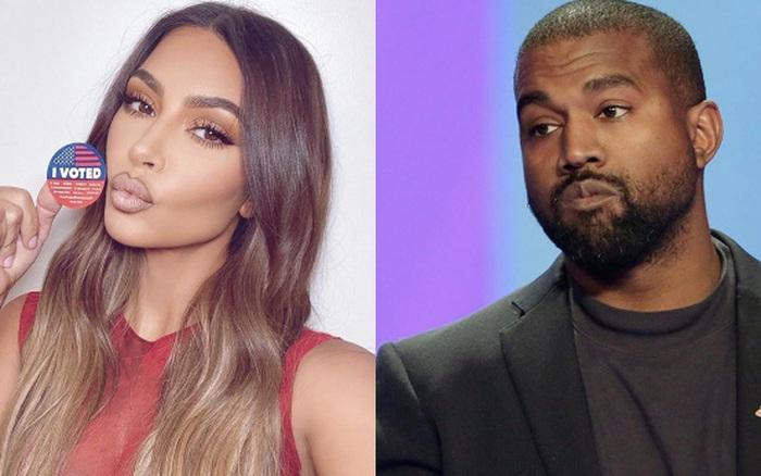 Kanye West còn gì đau hơn: Kim Kardashian bị nghi