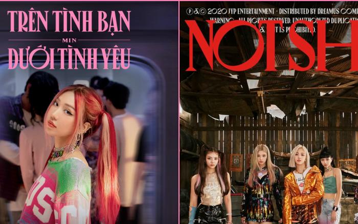 Soi trọn bộ poster comeback của Min mới thấy: Nhìn thì rất BLACKPINK nhưng font chữ lại 100% ITZY nhé!