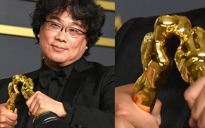 """Khoảnh khắc cha đẻ """"Ký sinh trùng"""" tạo dáng cưng muốn xỉu ở Oscar: """"Khi bạn ..."""