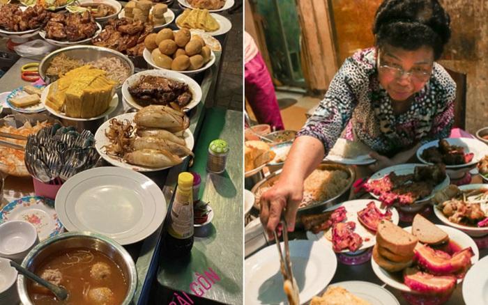 """Vừa vào Sài Gòn, vợ chồng Quỳnh Anh – Duy Mạnh đã đến ăn ngay """"cơm tấm bãi ..."""