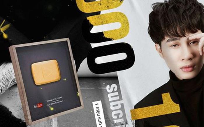 Jack đạt kỷ lục nút Vàng Youtube nhanh nhất Việt Nam
