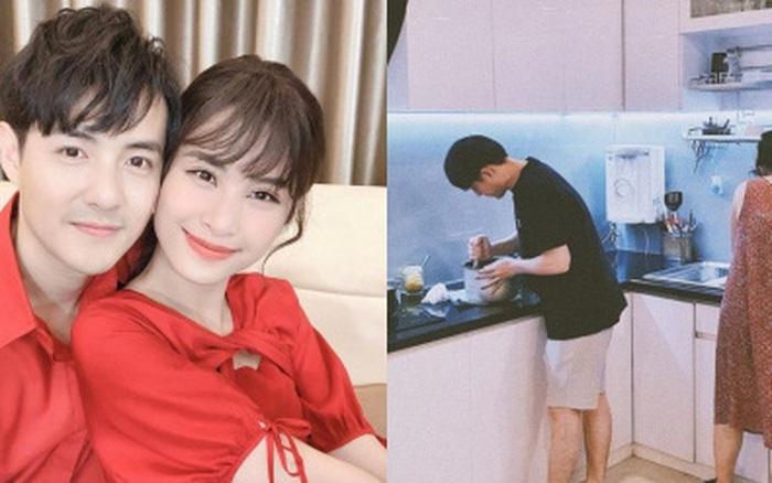 Ông Cao Thắng đúng chuẩn ông chồng kiểu mẫu: Vào bếp nấu ăn, chưa biết kết quả ra sao ...