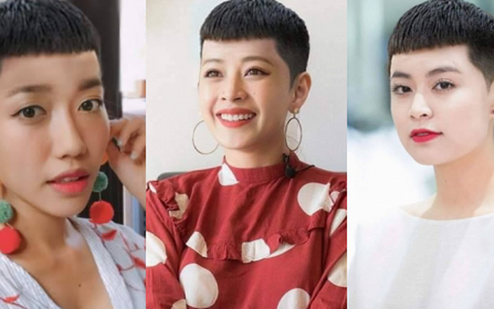 """Mỹ nhân Việt ướm thử tóc """"hạt dẻ"""" của ông chủ Park Seo Joon: Diệu Nhi cá tính ..."""