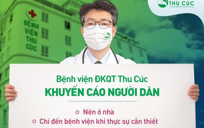 Bệnh viện ĐKQT Thu Cúc tư vấn khám chữa bệnh online miễn phí, sản phụ được hỗ trợ chi ...