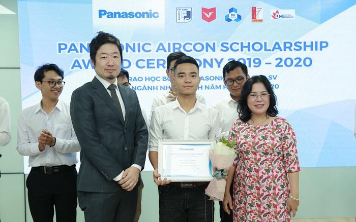 Panasonic Việt Nam thực hiện chương trình học bổng mới dành cho sinh viên ngành Nhiệt ...