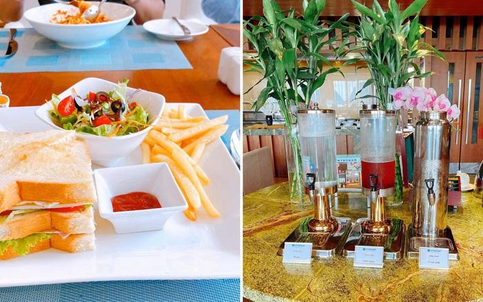 Những hình ảnh về bữa ăn cách ly bên trong khách sạn Wyndham Legend Halong ở Hạ Long ...