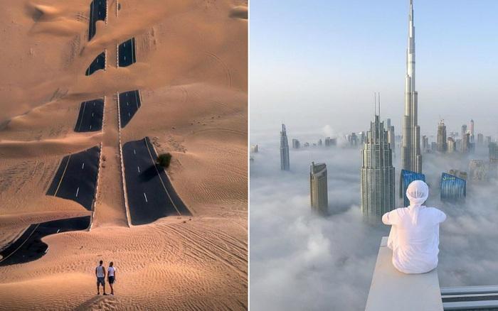 """Loạt ảnh chụp từ trên cao chứng minh Dubai là """"vùng đất đến từ hành tinh khác"""", ..."""