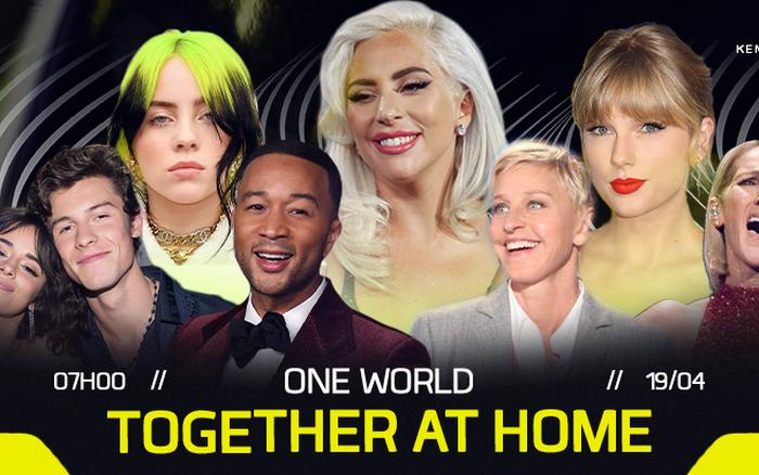 Lady Gaga kết hợp WHO tổ chức buổi livestream lớn nhất trong lịch sử quy tụ gần 100 ngôi sao!