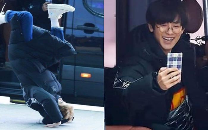 """Suho (EXO) lộn cổ vì Bboy """"cây nhà lá vườn"""" ở sân bay nhưng nhận cái kết ..."""