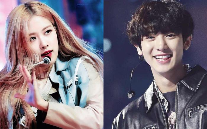 """Chanyeol (EXO) ngắm Rosé không chớp mắt, còn """"quẩy"""" ..."""