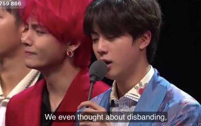 BTS tiết lộ lý do dẫn đến việc suýt tan rã vào đầu năm 2018
