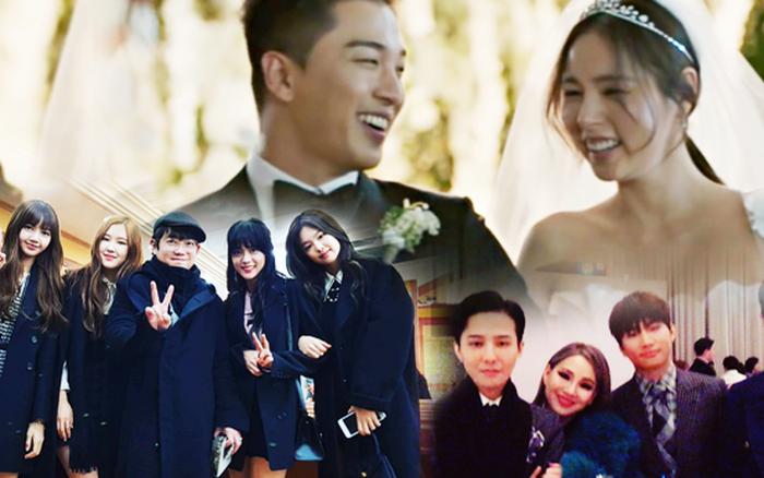 Taeyang đích thân hé lộ khoảnh khắc hiếm trong đám cưới với Min Hyo ...