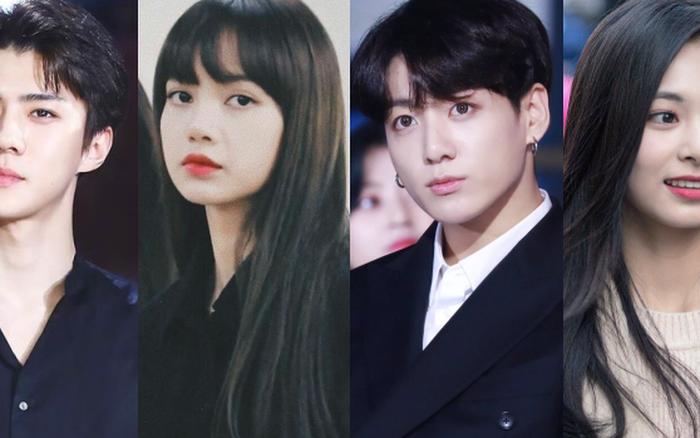 20 em út Kpop lột xác ngoạn mục nhờ tóc đen: Jungkook, Sehun hoá tổng ...