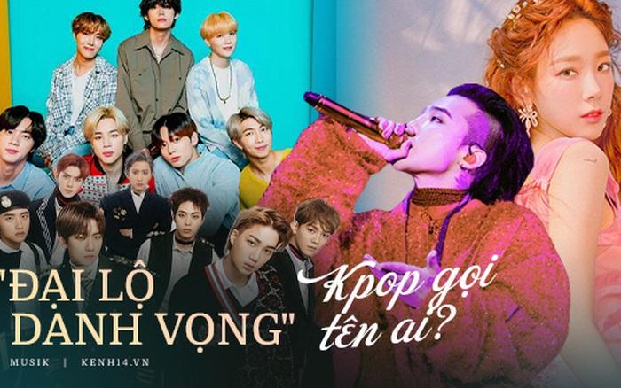 Netizen chọn idol cống hiến lớn cho Kpop