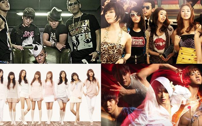 Ngược thời gian trở về Kpop năm 2008: Thời kỳ hoàng kim với loạt bản hit của TVXQ, BIGBANG, ...