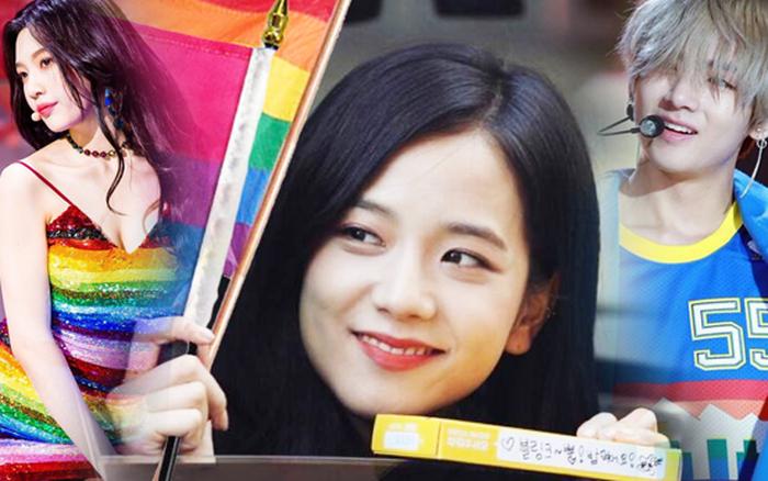 Idol Kpop ủng hộ LGBT đầy tinh tế: BLACKPINK - BTS thể hiện rõ ràng, xúc động ...