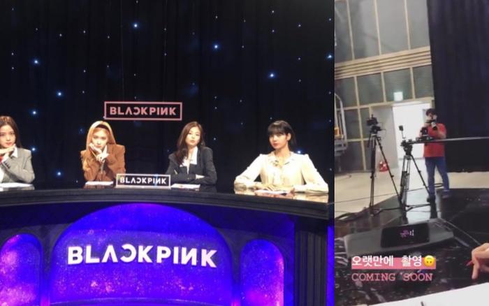"""Staff của YG """"tiện tay"""" đăng clip đang quay hình, cuối cùng cũng đến ..."""