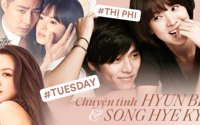 """Chuyện tình Song Hye Kyo - Hyun Bin: Đẹp nhưng 2 chữ """"tiểu tam"""" làm ..."""