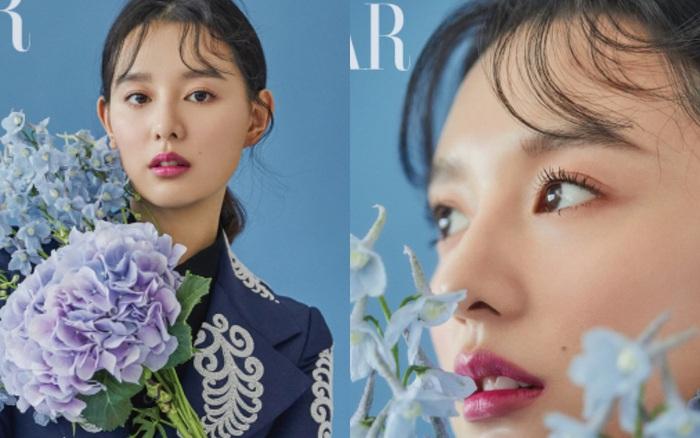 """Nữ thần """"Hậu duệ mặt trời"""" Kim Ji Won tung bộ ảnh tạp chí mới: Vẫn biết nhan ..."""