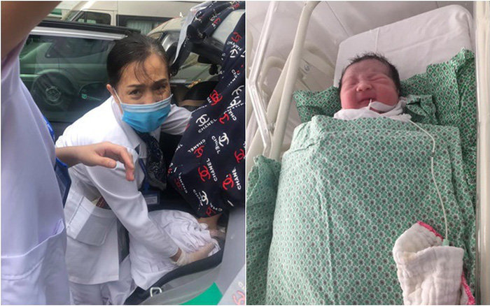 Hà Nội: Sản phụ bắt taxi lên bệnh viện sinh con nhưng tắc đường, tài xế cho xe ...