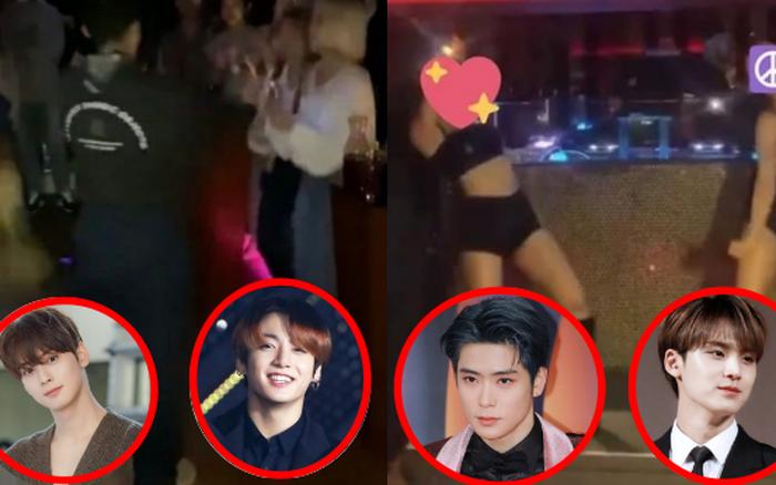 Jungkook và 3 idol bị vạch trần đến bar có phụ nữ bán nude ở Itaewon