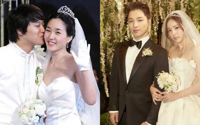 """Sao Hàn kết hôn với mối tình đầu: Tài tử """"Thử thách thần ..."""