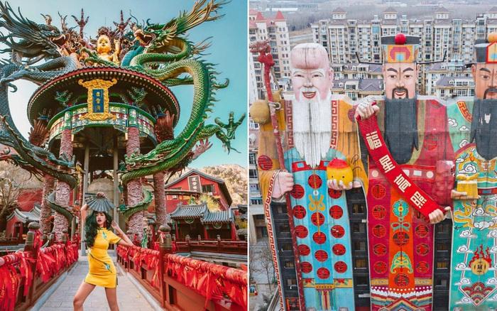 """Ngơ ngác trước 10 toạ độ """"siêu ảo"""" ở Trung Quốc: Xem đến đâu ..."""