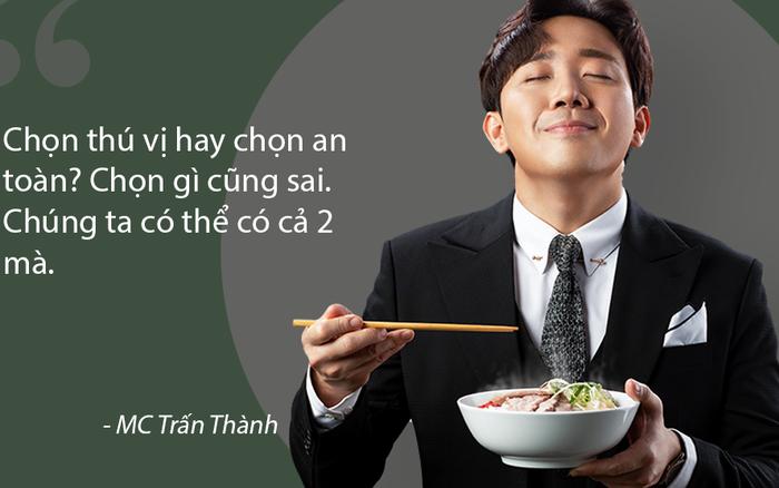 """""""Mượn đồ ăn"""" nói chuyện tình yêu, Trấn Thành cho ra ..."""