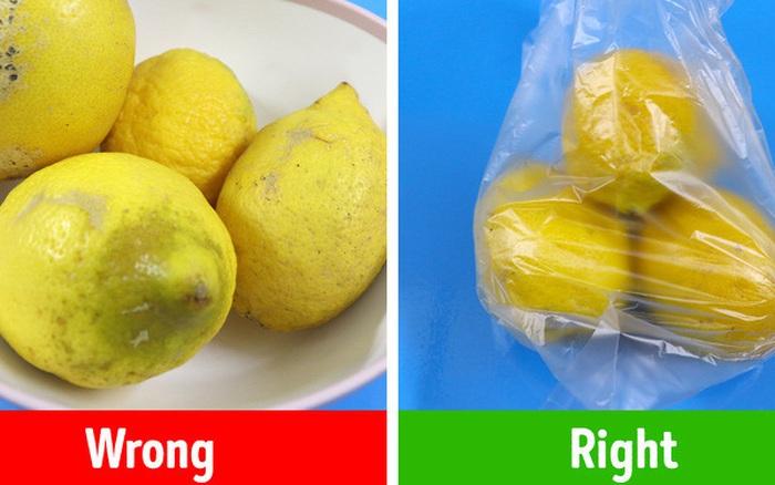 11 mẹo hữu ích để bảo quản thực phẩm kéo dài được cả vài ...