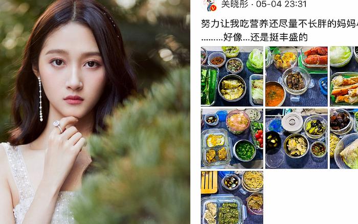 Bạn gái Luhan - Quan Hiểu Đồng chia sẻ thực đơn ăn kiêng 7 ngày sang chảnh, ăn ...