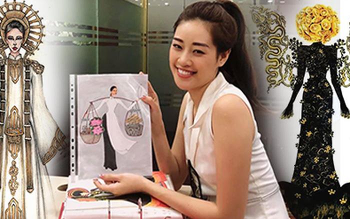 Hé lộ loạt mẫu Quốc phục cho Khánh Vân: Nhiều mẫu độc đáo, ...