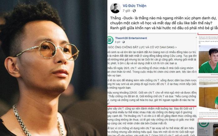 Rhymastic chỉ trích gay gắt page Theanh28 vì cợt nhả nạn nhân bị hiếp ...