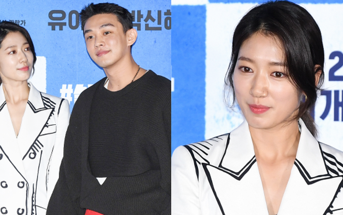 Park Shin Hye thân mật với Yoo Ah In tại họp báo, dân tình chỉ ...