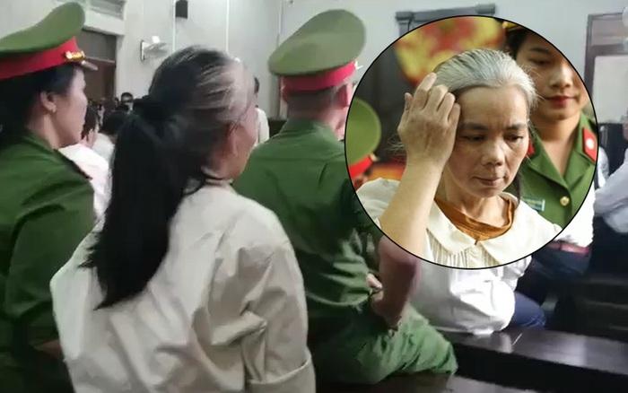 Xử phúc thẩm nữ sinh giao gà: Bùi Thị Kim Thu bất ngờ đánh ...