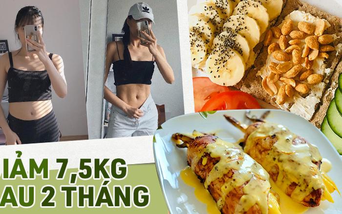 Từ bỏ đồ ăn nhanh, nàng du học sinh giảm được 7,5kg chỉ sau 2 tháng nhờ theo đuổi chế ...
