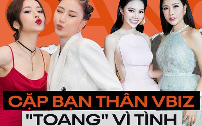 """Đôi bạn thân Vbiz bỗng dưng """"toang"""" vì tình: Chi Pu ..."""