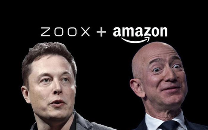 Vừa bỏ tỷ USD ra mua hãng xe tự lái, Jeff Bezos đã bị Elon Musk gọi ...