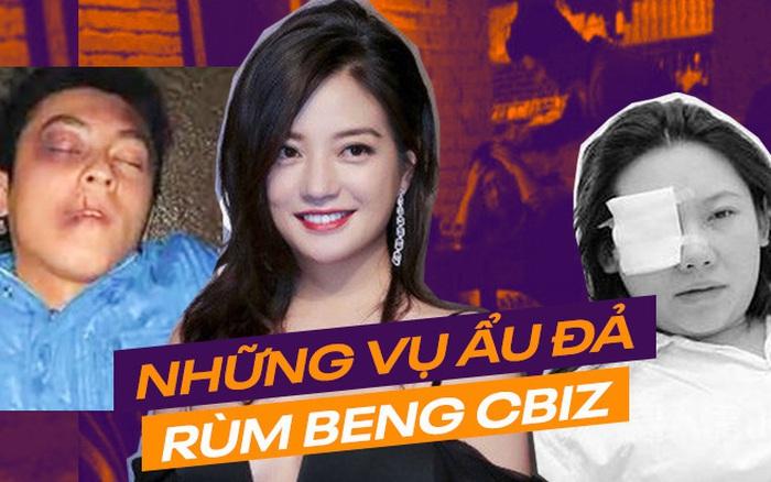 """Loạt scandal """"choảng"""" nhau chấn động Cbiz: Triệu Vy bạo lực, Trần Quán Hy bị ..."""