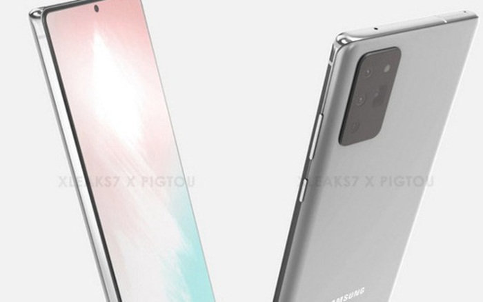"""""""Body"""" Galaxy Note 20 lộ diện thông qua tấm ảnh rò rỉ về ốp lưng của máy"""