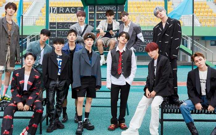 SEVENTEEN vượt NCT và EXO cán mốc triệu bản Hanteo tại Hàn