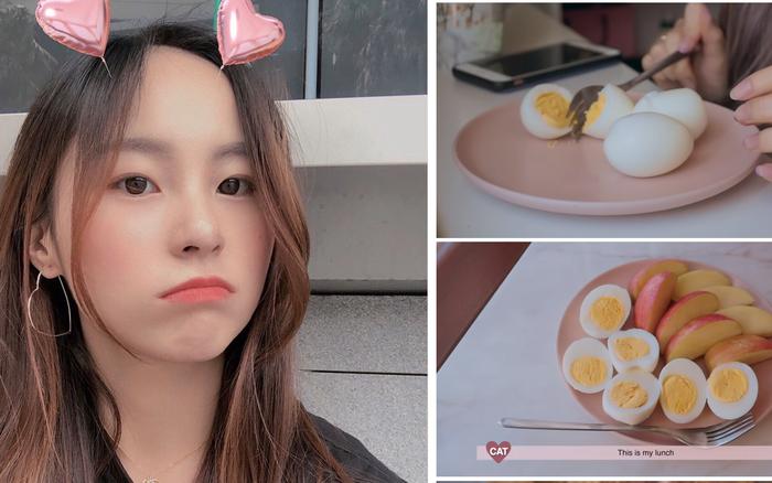 Áp dụng chế độ ăn kiêng với trứng, cô nàng vlogger xứ Hàn ...