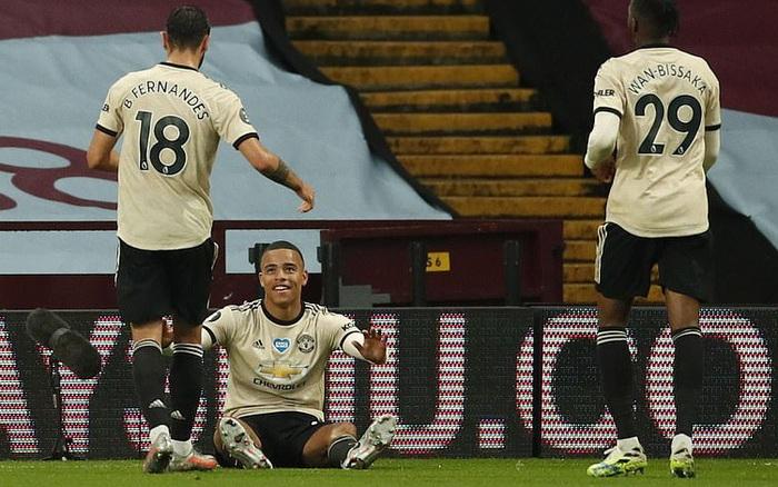 Manchester United 3-0 Aston Villa: Pogba nổ súng, sao trẻ Greenwood thăng hoa, Quỷ đỏ ...