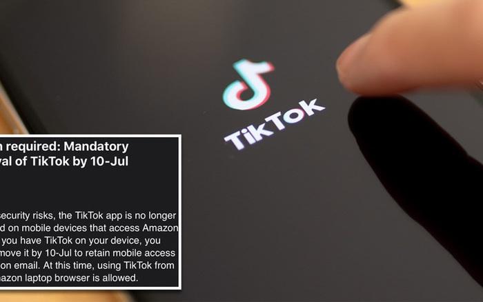 Cả thế giới đang quay lưng với TikTok, lần này đến lượt Amazon yêu cầu nhân ...