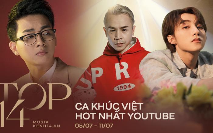 14 ca khúc Việt hot nhất YouTube tuần qua: Sơn Tùng M-TP bỏ xa Hoài ...