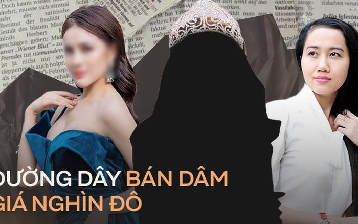 Loạt Hoa hậu, Á hậu dính bê bối bán dâm: Đường dây ...