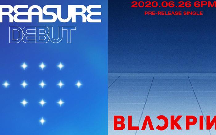 YG tung poster na ná phong cách BLACKPINK để thông báo màn ...